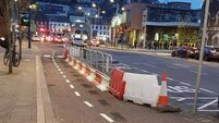 Group 'baffled' by narrowing of cycle lane to accommodate bus stop in Cork city centre