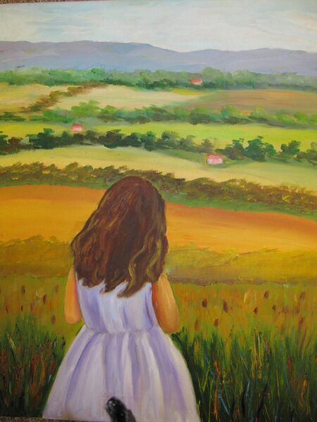 Admiring the View by Donna Clayton.