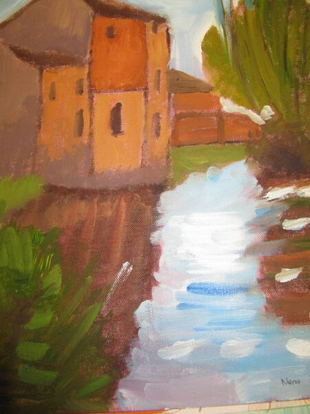 House by the River by Nena Dineen.