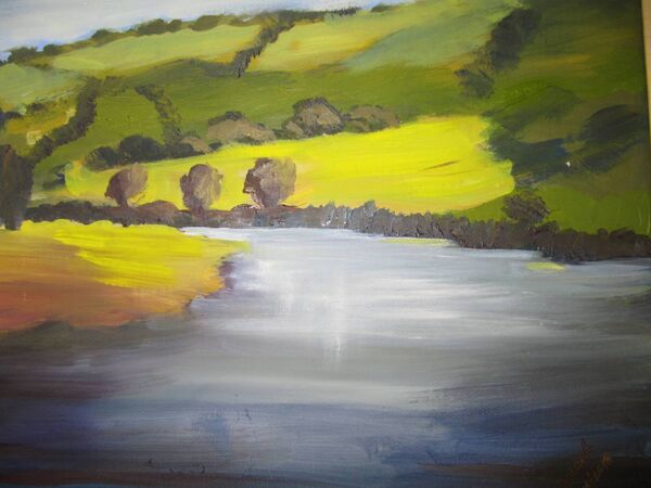 August by the River, Marion Coughlan.