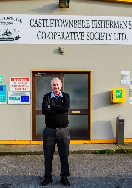 John Nolan Manager of Castletownbere's Fishermans Co Op Society . Picture: Anne Marie Cronin Photography