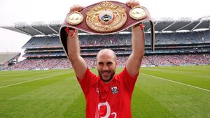Cork boxer Spike O'Sullivan training hard in lockdown with his sights set on a title shot this summer in Florida