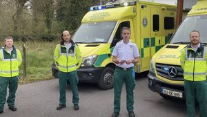 Four Cork paramedics to 'Brave the Shave' in aid of charity