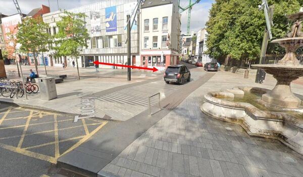 Cork streets in line for pedestrianisation. Tuckey St.