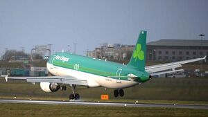 Aer Lingus staff earnings to be halved in April