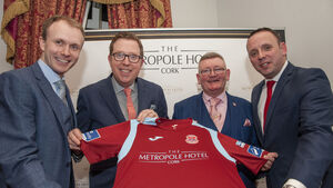Cobh Ramblers launch sponsorship deal with Metropole Hotel for new season