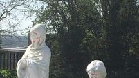 Desecrated statues 'shocking and disrespectful'