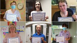 Cork care centre acknowledges its heroes with certificates of appreciation