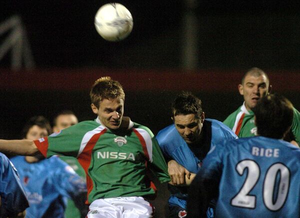 Kevin Doyle was a great header of the ball. Picture: Eddie O'Hare