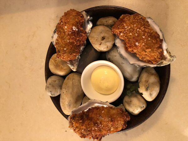 Aishling Moore of Goldie shares her recipe for Panko breaded Oysters.