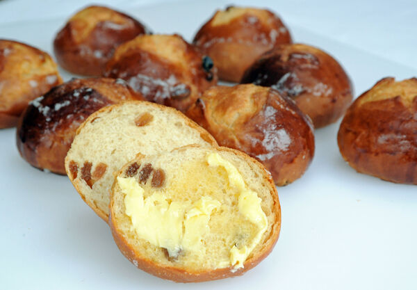 Hot Cross Buns by Mercy Fenton - see the recipe in the link below. Picture: Denis Minihane.