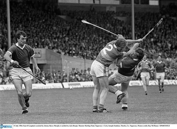 Seanie O'Leary and JBM in 1984. Picture: Ray McManus/SPORTSFILE