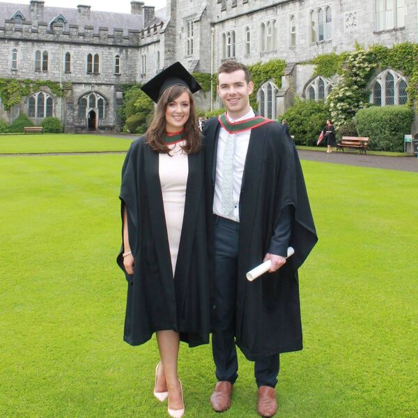 ANSWERING THE CALL: Aidan Coffey and Lorna Kelly arrived back in Cork this week to help the fight against Coronavirus
