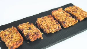 Recipe: Carrot and Peanut Flapjacks