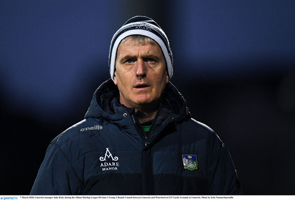 Limerick manager John Kiely. Picture: Eóin Noonan/Sportsfile
