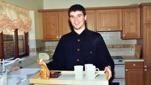 Tea and biscuits with Keane... exclusive picture gallery of Roy's early days