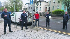 Cork duo deliver coffee and cakes treat to frontline workers