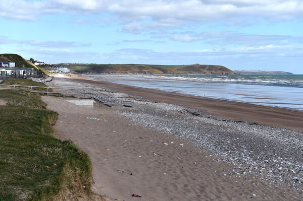 Youghal beach in East Cork is one of fourteen beaches which are to close ahead of Easter weekend.