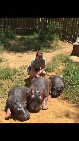 Fairhill native and veterinary nurse, Vanessa Goggin is currently on lockdown at the Umoya Khulula Wildlife Centre where she is caring for exotic animals. She had wanted to come home amid fears that Cork would go into lockdown which inevitably happened last Friday.