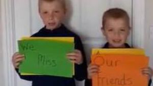 Watch: Blarney Street CBS hosts virtual school assembly; Students say they miss their friends
