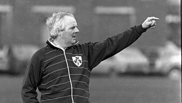 Tom Kiernan was a talented player who also used his rugby nous to help Munster and Ireland as a coach. Picture: Ray McManus/SPORTSFILE