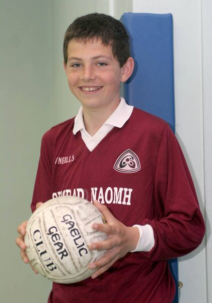 John Egan, picked for the Cork Primary games team in Football, Scoil an Spioraid Naoimh, Boys, Bishopstown. Picture: Cillian Kelly