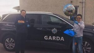 Garda who helped celebrate a Cork boy's birthday had her kindness repaid with a lovely surprise