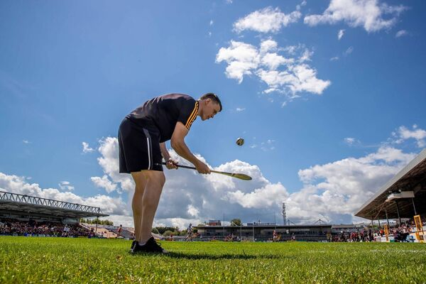 Kilkenny's TJ Reid also owns a gym and is providing online sessions for kids. Picture: INPHO/Morgan Treacy