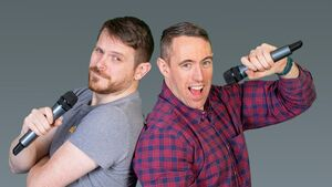 Cork duo Pat and Colm are waxing quizzical!