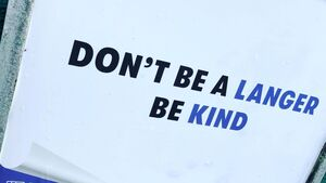 'Don't be a Langer, Be Kind'; Simple message sparks huge charity campaign