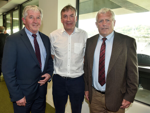 John Fenton, John Evans and Jerry O'Sullivan at the launch of Cairde Chorcaí. Picture: Eddie O'Hare