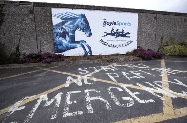 A view of Fairyhouse Racecourse after Horse Racing Ireland after the cancellation of this year's racing festivals at Punchestown and Fairyhouse. Picture: INPHO/Morgan Treacy