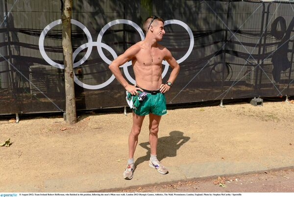 Cork Olympian Rob Heffernan.