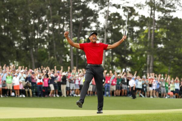 Tiger Woods was back to winning ways last year. Picture: Kevin C Cox/Getty Images