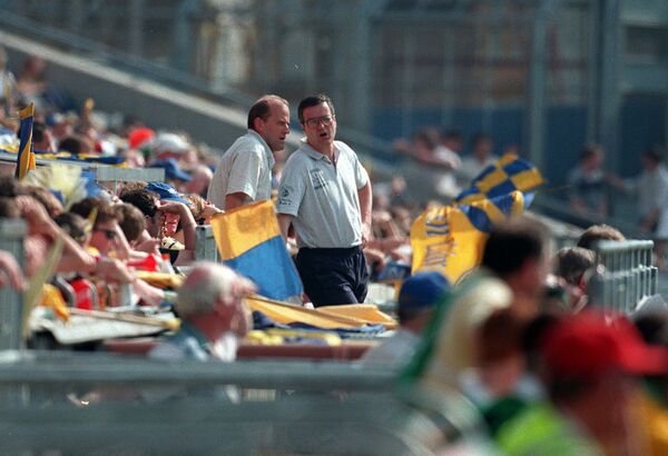Clare manager Ger Loughnane and selector Tony Considine. Picture: Des Barry