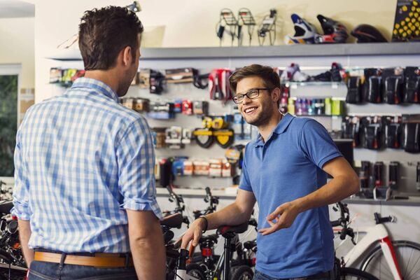BUYING A BIKE: The most important thing is to try and cycle the bike first to ensure it suits you and you feel comfortable.