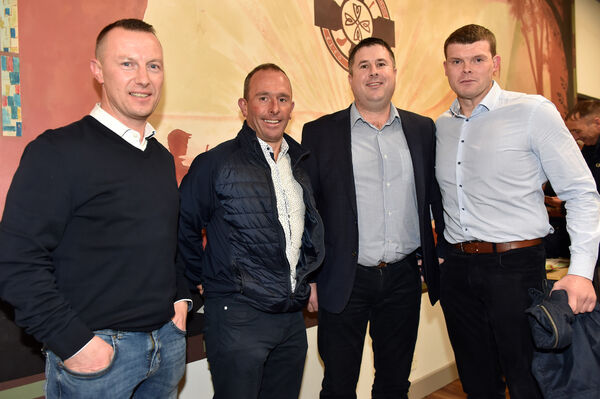Declan Collins, Barry Egan, Mark O'Driscoll and Paul Finnegan.