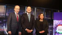 Final Leaders Debate of General Election 2020, Dublin, Ireland