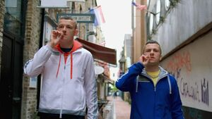 Criticism of 'Young Offenders' and other shows for showing smoking and drinking by young people