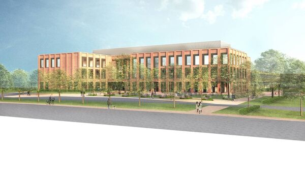 A computer-generated view of the proposed new Learning Resource Centre at the Cork Institute of Technology.