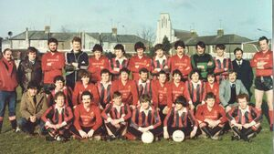 Red letter day for Casement Celtic Football Club in 1983