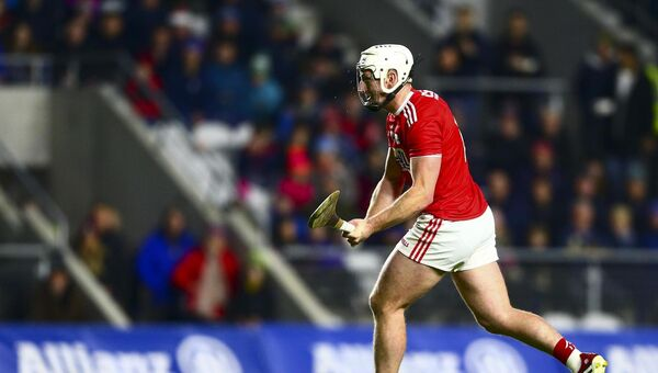 Cork's Patrick Horgan watches as his penalty beats Tipperary's Brian Hogan. Picture: INPHO/Ken Sutton