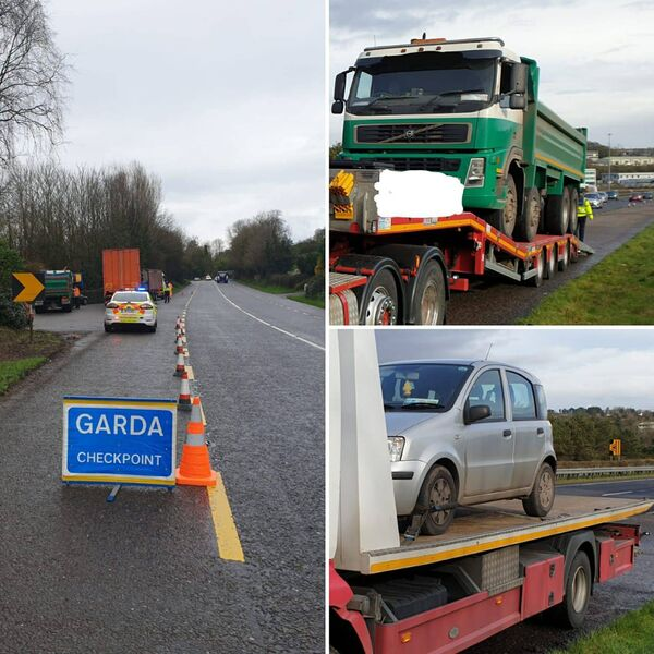 The Cork City Road Policing Unit and the RSA conducted two checkpoints today with multiple offences detected.