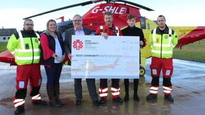 Air ambulance reduces service to stay in operation