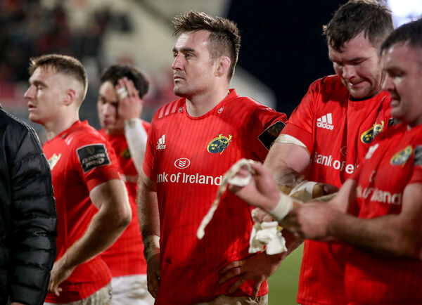 Munster's Niall Scannell dejected after the gameMandatory Credit ©INPHO/Dan Sheridan