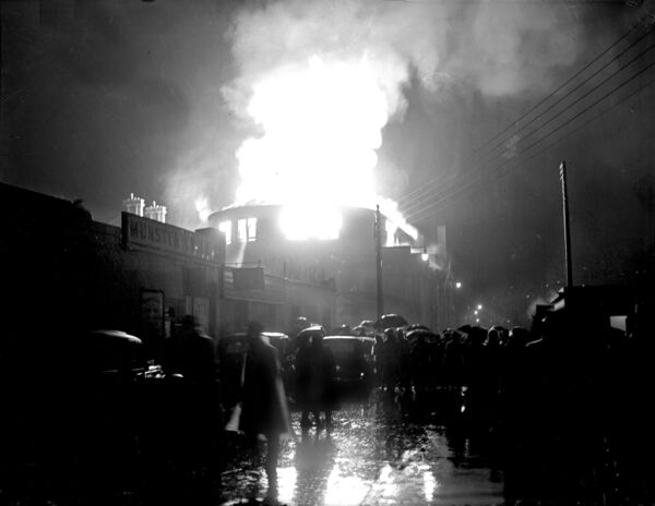The fire broke out at approximately 9pm on December 12, 1955.