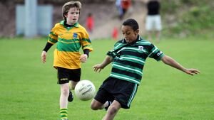 Adam Idah has been a star for years at GAA with Douglas and local soccer with College Corinthians