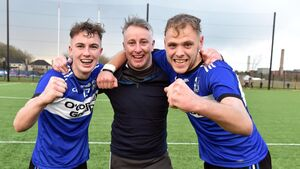 Joy for Ray Ryan after Sars hurlers struck late to take U21 Premier 1 title