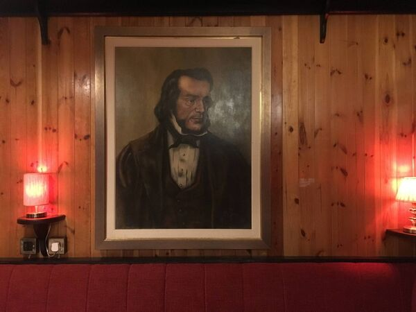 Thomas Davis portrait in ARTY'S Bar, Ballincollig. The new pub is due to open this evening. Picture Credit: ARTY'S Facebook.