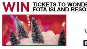 WIN TICKETS TO WONDER AT FOTA ISLAND RESORT